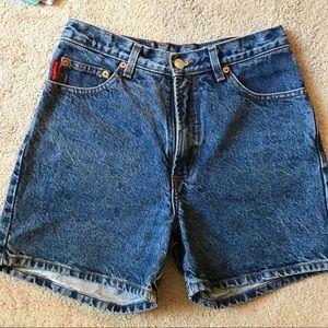 BONGO Vintage High Waist mom jeans 90's Shorts 7